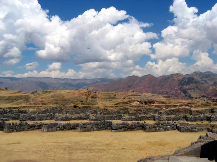 World Travel Photos :: Peru - Cusco :: Ruins of ancient city Cusco