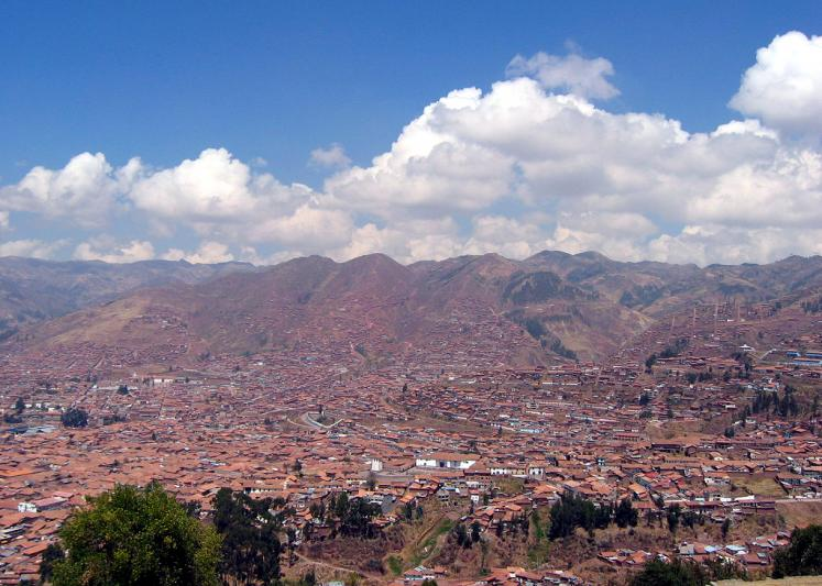 World Travel Photos :: UNESCO World Heritage Sites :: Peru. Cusco - a panoramic view - UNESCO World Heritage Site