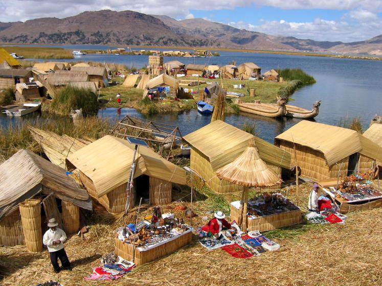 World Travel Photos :: Inspirational places :: Peru. Lake Titicaca