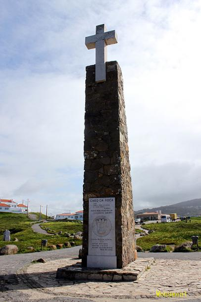 World Travel Photos :: Portugal - Lisbon :: Lisbon - a cross at Cabo da Roca