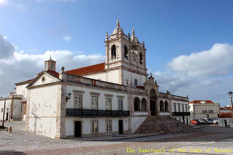 World Travel Photos :: Joseph :: Portugal. Nazare - The Sanctuary of Our Lady of Nazare