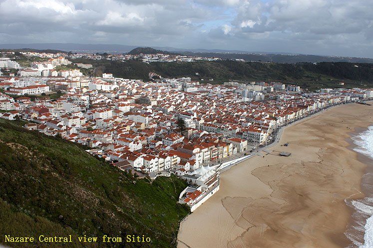 World Travel Photos :: Joseph :: Portugal. Nazare - a view from Sitio