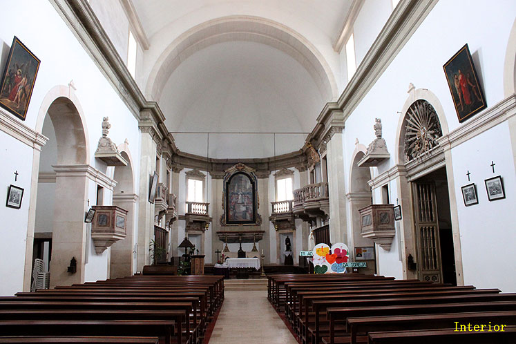 World Travel Photos :: Joseph :: Portugal. Interior of chapel in the Ourem Castle