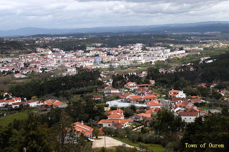 World Travel Photos :: Joseph :: Portugal. Ourem - a city view