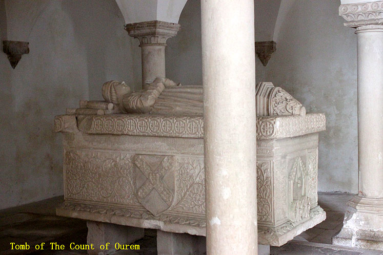 World Travel Photos :: Portugal - Ourem :: Portugal. Tomb of the Count of Ourem