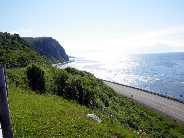 World Travel Photos :: Roads :: Quebec.Along hwy 132 westbound