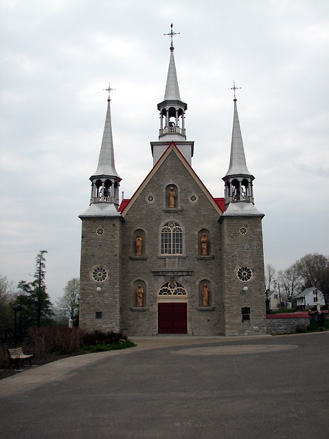 World Travel Photos :: Canada - Quebec - l´Ile-d´Orleans  :: Ile d´Orleans, Quebec - church