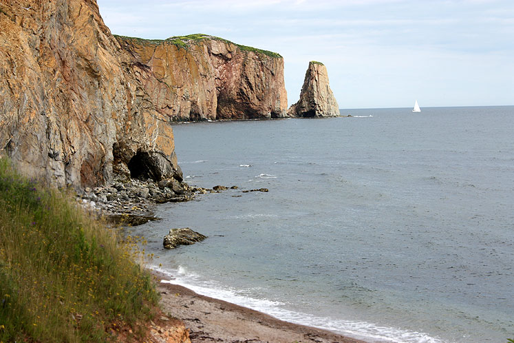 World Travel Photos :: Canada - Québec - Percé :: Rocks around Percé