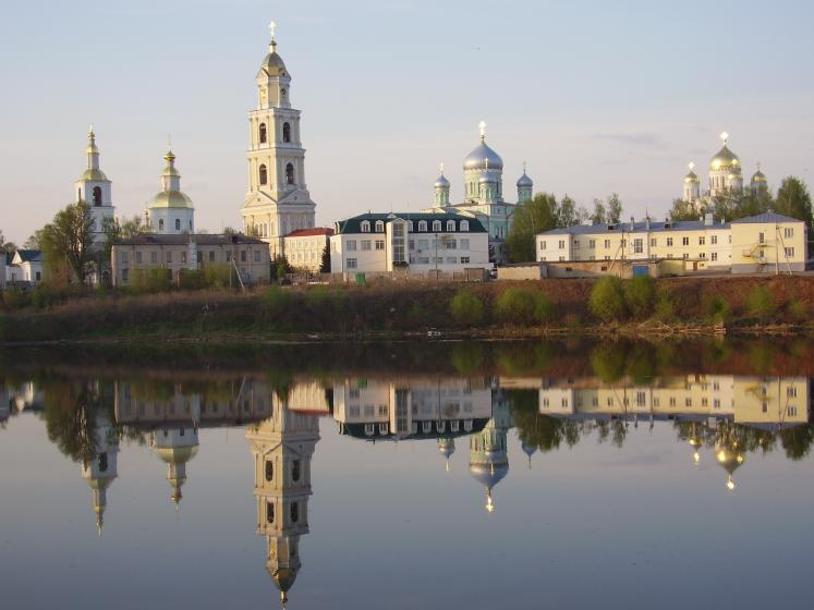 World Travel Photos :: Serenity :: Russia. A view on Divyeevo Monastery (Nizhny Novgorod District)