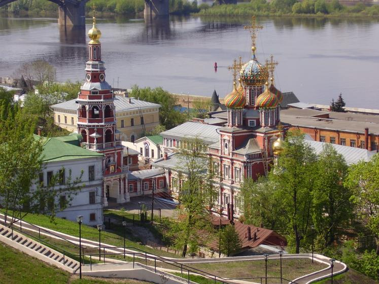 World Travel Photos :: Quiet small-town views :: Russia. Domes of Nizhny Novgorod