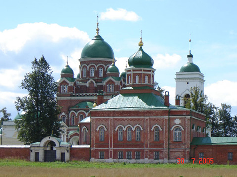 World Travel Photos :: Russia - Misc :: Mozhaisk. Spaso-Borodinsky Monastery