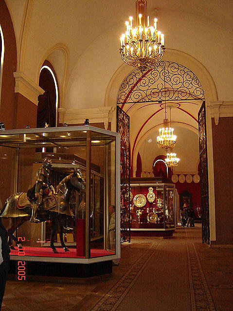 World Travel Photos :: Museums :: Moscow. The Armoury Chamber