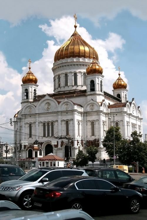 World Travel Photos :: Russia - Moscow :: Moscow. Cathedral of Christ the Saviour