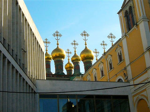 World Travel Photos :: Klara :: Golden domes of Moscow