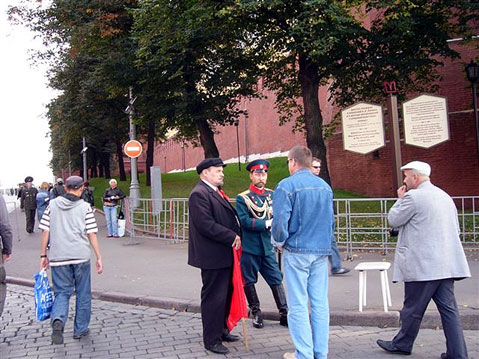 World Travel Photos :: Klara :: Moscow. Vladimir Il´ych Lenin is talking to people on the street