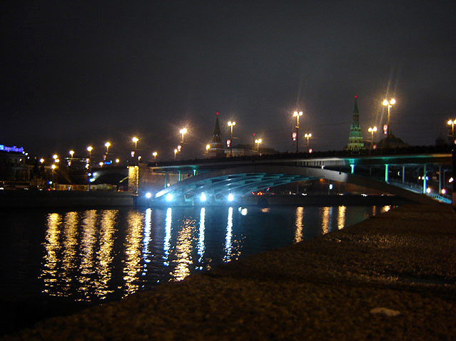 World Travel Photos :: Panoramic views :: Moskva River at Night