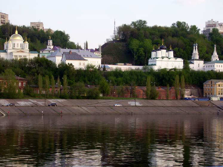 World Travel Photos :: Quiet small-town views :: A view from Oka river on Nizhny Novgorod