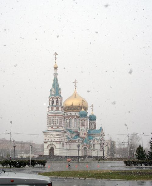 World Travel Photos :: Russia - Omsk District :: Russia. Omsk District - the first snow