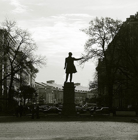 World Travel Photos :: Monuments & sculpture compositions :: St. Petersburg. Alexander Pushkin Memorial
