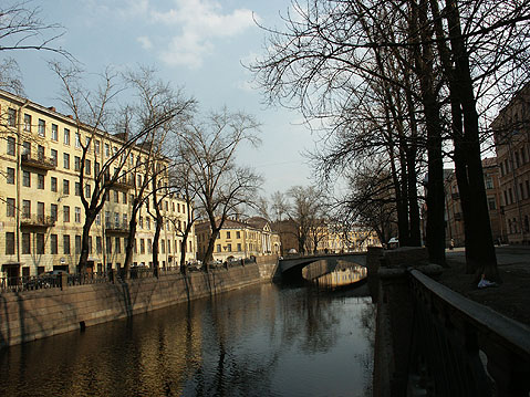 World Travel Photos :: Russia - St. Petersburg :: St. Petersburg. Griboedov Canal