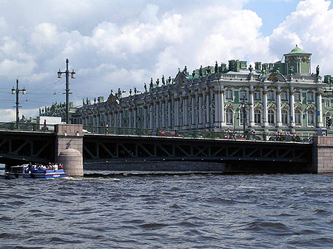 World Travel Photos :: Palaces :: St. Petersburg. Hermitage Museum - Winter Palace