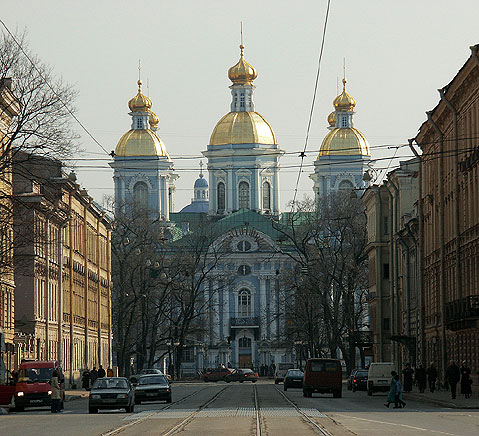 World Travel Photos :: Churches :: St. Petersburg. Nikolsky Cathedral