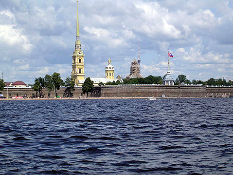 World Travel Photos :: Peter and Paul Fortress :: St. Petersburg. Peter and Paul Fortress