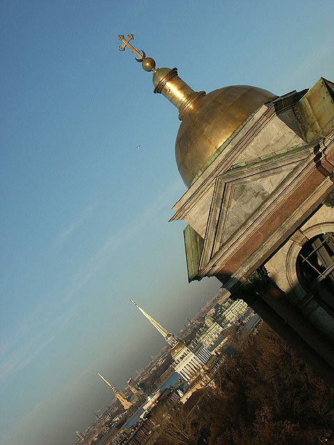 World Travel Photos :: The most famous buildings  :: St. Petersburg. View from the Roof of Saint Isaac´s Cathedral