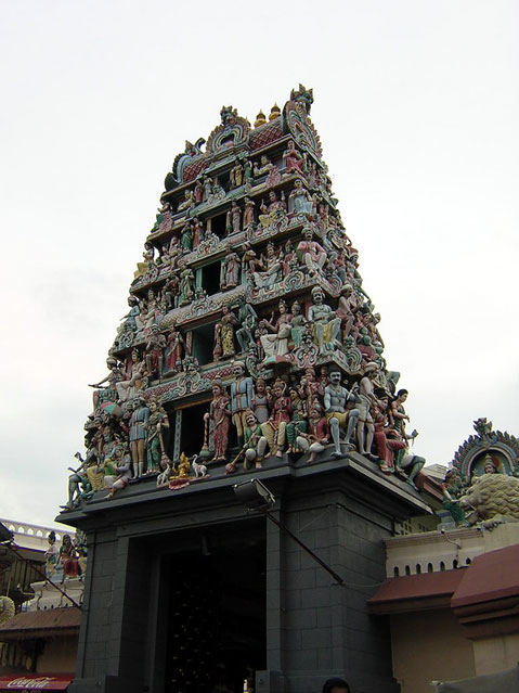 World Travel Photos :: Singapore :: Singapore. Sri Mariamman Temple