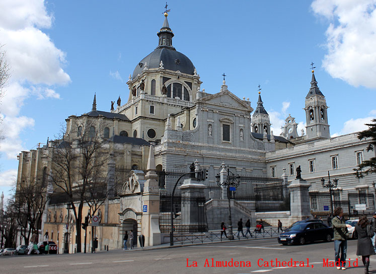 World Travel Photos :: Spain - Madrid :: Madrid. La Almudena Cathedral