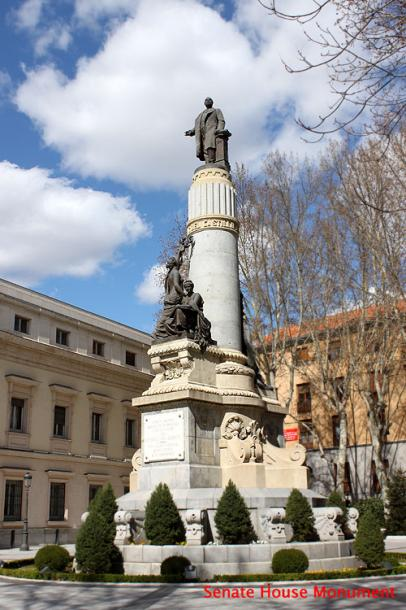 World Travel Photos :: Spain - Madrid :: Madrid. A monument in front of Senate House