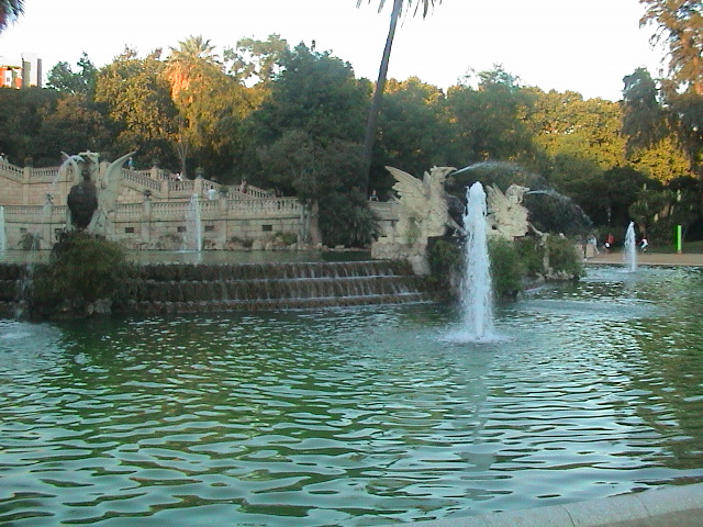 World Travel Photos :: Lidia :: Barcelona. A fountain in the park
