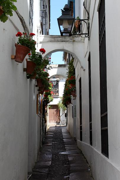 World Travel Photos :: Spain - Cordoba :: A narrow street in Cordoba