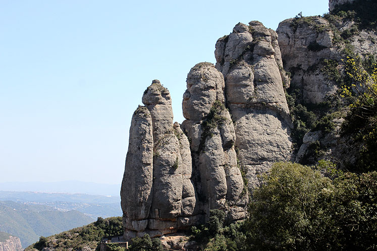 World Travel Photos :: Spain - Montserrat  :: Spain. Monserrat Mountain