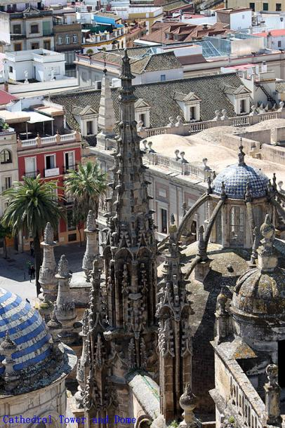 World Travel Photos :: Spain - Seville :: Seville. Cathedral Tower and Dome
