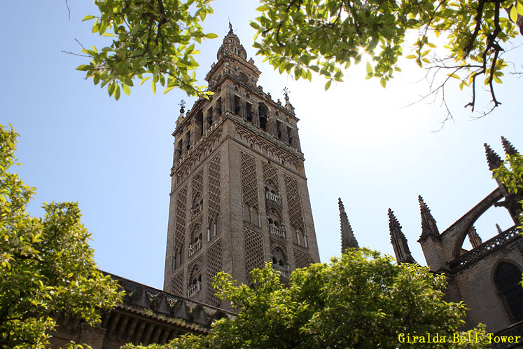 World Travel Photos :: Spain - Seville :: Seville. Giralda Bell Tower