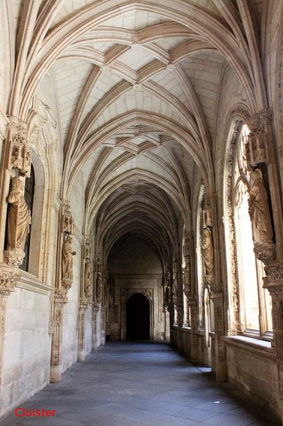 World Travel Photos :: Spain - Toledo :: Toledo. San Juan de los Reyes monastery - cloister