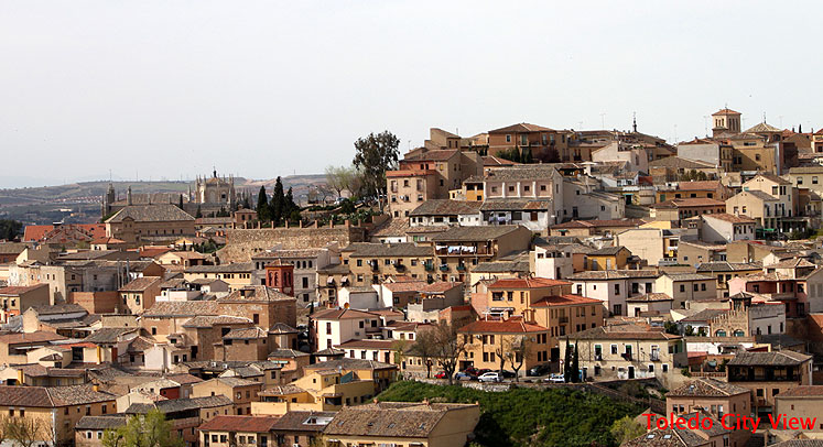 World Travel Photos :: Panoramic views :: Toledo - city view