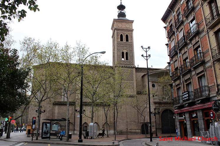 World Travel Photos :: Spain - Zaragoza :: Spain. Zaragoza - St. Michael church