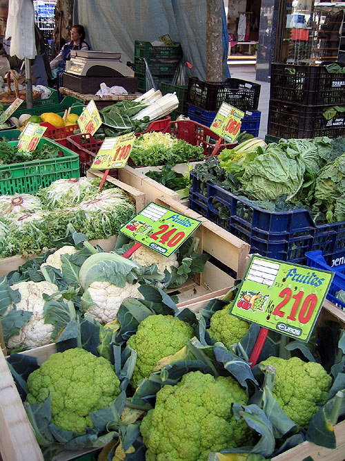 World Travel Photos :: Lel Keshet :: Spain. A market in Costa Brava