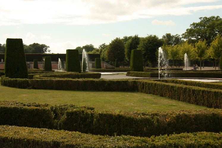 World Travel Photos :: Castles & palaces :: Drottningholm Palace - a park surrounding the palace