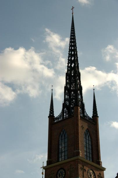 World Travel Photos :: Sweden - Stockholm :: A tower in old city Stockholm