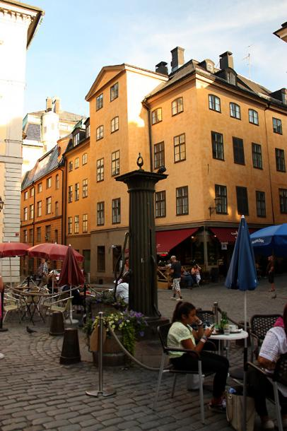 World Travel Photos :: Torontonian :: Stockholm. A small square in Gamla stan