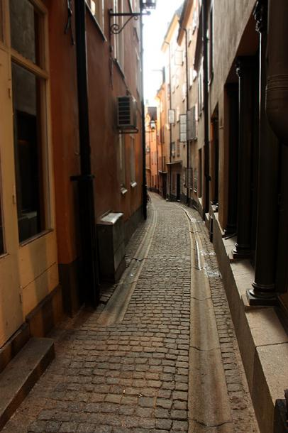 World Travel Photos :: Torontonian :: Stockholm. Narrow streets of Gamla stan