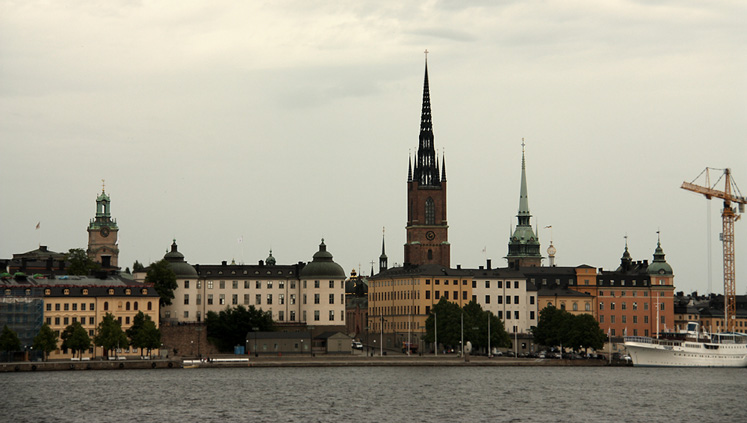 World Travel Photos :: Sweden - Stockholm :: Stockholm - a silhouette of the old city