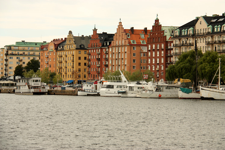 World Travel Photos :: Sweden - Stockholm :: Stockholm - a view across the river