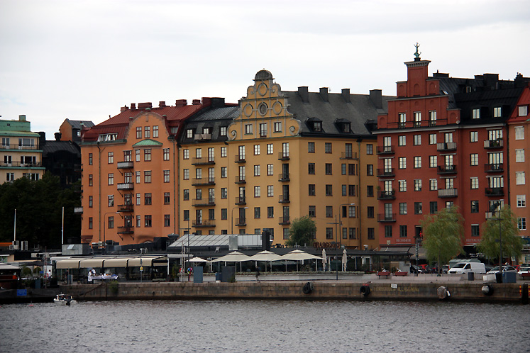 World Travel Photos :: Sweden - Stockholm :: Stockholm - a view from the boat on Gamla Stan