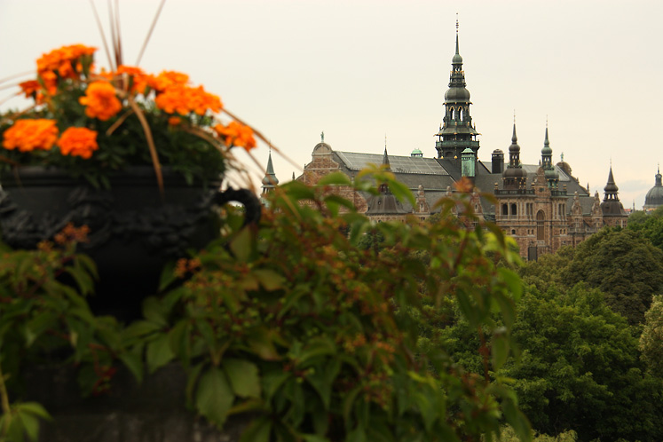 World Travel Photos :: Sweden - Stockholm :: Stockholm - a view on Nordic Museum from Skansen