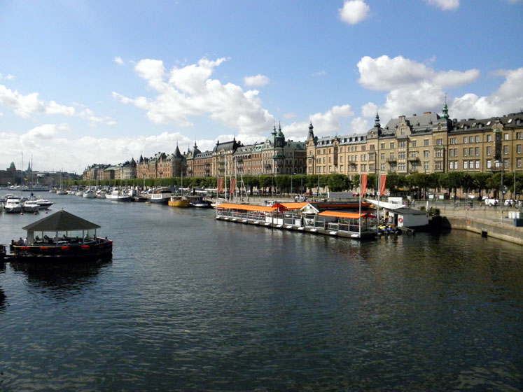 World Travel Photos :: vano :: Stockholm - a city view