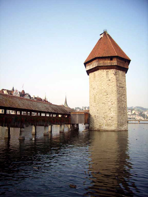 World Travel Photos :: Dave C. :: Switzerland. Lucerne. Water Tower